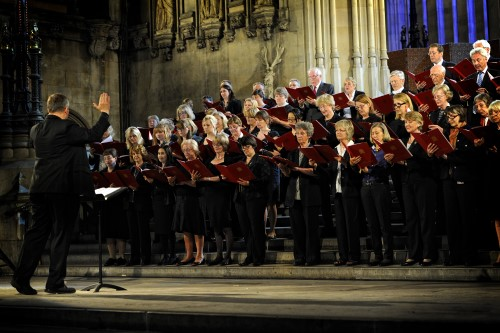 choir in Westminster Hall